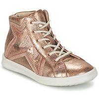 Cipők Lány Magas szárú edzőcipők GBB PRUNELLA Rózsaszín / Arany
