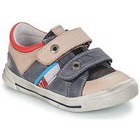 Cipők Fiú Rövid szárú edzőcipők GBB PHIL Szürke / Kék
