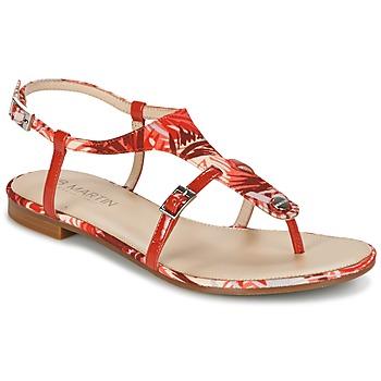 Cipők Női Szandálok / Saruk JB Martin GAELIA Piros / Trópusi