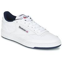 Cipők Férfi Rövid szárú edzőcipők Reebok Classic CLUB C 85 Fehér / Kék