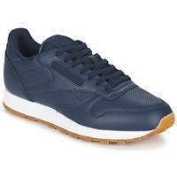 Cipők Férfi Rövid szárú edzőcipők Reebok Classic CL LEATHER PG Kék