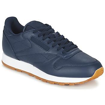 Shoes Férfi Rövid szárú edzőcipők Reebok Classic CL LEATHER PG Kék