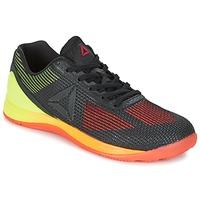 Shoes Férfi Fitnesz Reebok Sport R CROSSFIT NANO 7.0 Fekete  / Zöld