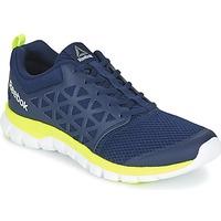 Shoes Férfi Fitnesz Reebok Sport SUBLITE XT CUSHION Kék / Citromsárga