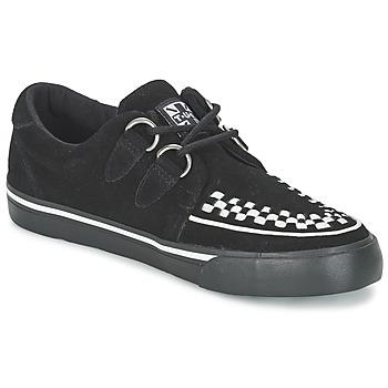 Cipők Rövid szárú edzőcipők TUK CREEPERS SNEAKERS Fekete  / Fehér
