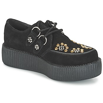Cipők Oxford cipők TUK MONDO LO Fekete