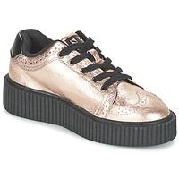 Cipők Női Rövid szárú edzőcipők TUK CASBAH CREEPERS Rózsaszín / Fémes
