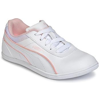 Cipők Lány Rövid szárú edzőcipők Puma JR MYNDY 2 SL.WHT Fehér