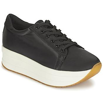 Cipők Női Rövid szárú edzőcipők Vagabond CASEY Fekete