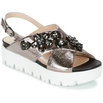 Cipők Női Szandálok / Saruk Luciano Barachini TANITI Szürke
