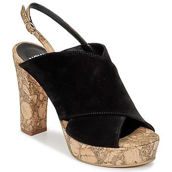 Cipők Női Klumpák Now PAPIRON Fekete