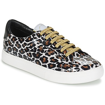 Shoes Női Rövid szárú edzőcipők Marc Jacobs EMPIRE LACE UP Leopárd