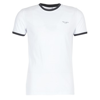 Ruhák Férfi Rövid ujjú pólók Teddy Smith THE TEE Fehér
