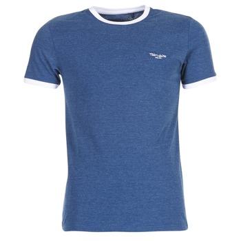 Ruhák Férfi Rövid ujjú pólók Teddy Smith THE TEE Kék