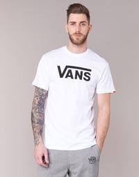 material Férfi Rövid ujjú pólók Vans VANS CLASSIC Fehér
