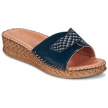 Cipők Női Szandálok / Saruk Salamander FLORA Kék