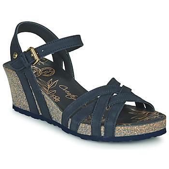 Cipők Női Szandálok / Saruk Panama Jack VERA Kék