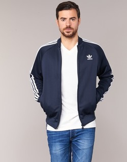 material Férfi Melegítő kabátok adidas Originals SST TT Tengerész