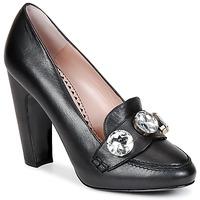 Cipők Női Félcipők Moschino Cheap & CHIC STONES Fekete