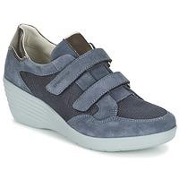 Cipők Női Rövid szárú edzőcipők Stonefly EBONY Kék