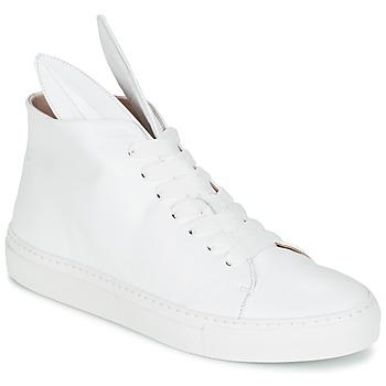 Cipők Női Magas szárú edzőcipők Minna Parikka BUNNY SNEAKS Fehér