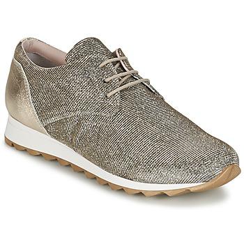 Cipők Női Rövid szárú edzőcipők Tosca Blu DERZE Ezüst / Arany