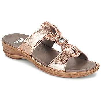 Shoes Női Papucsok Ara AGLIMELLE Arany / Rózsaszín