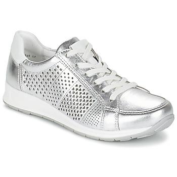 Shoes Női Rövid szárú edzőcipők Ara CHEVOK Ezüst