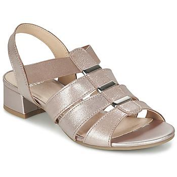 Cipők Női Szandálok / Saruk Caprice RIJOULE Rózsaszín / Fémes