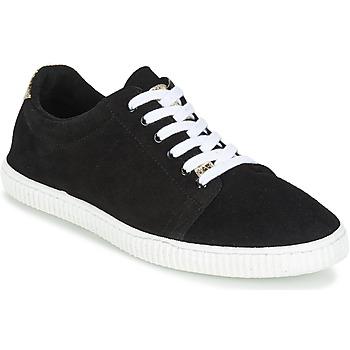 Cipők Női Rövid szárú edzőcipők Chipie JERBY Fekete  / Arany