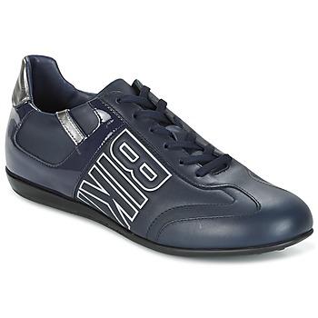 Cipők Férfi Rövid szárú edzőcipők Bikkembergs R-EVOLUTION 186 LEATHER Kék