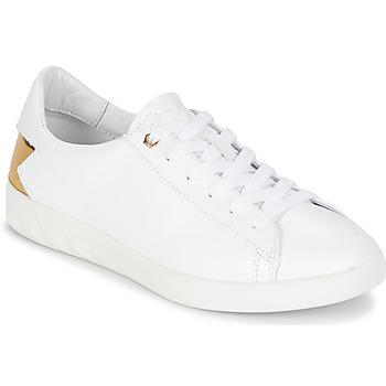 Cipők Női Rövid szárú edzőcipők Diesel S-OLSTICE LOW W Fehér / Arany