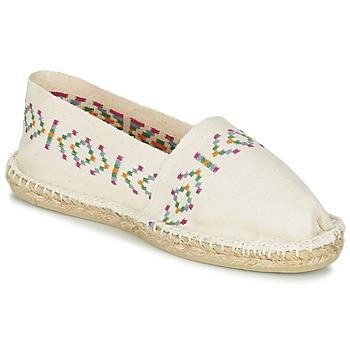 Cipők Női Gyékény talpú cipők 1789 Cala CLASSIQUE Ekrü