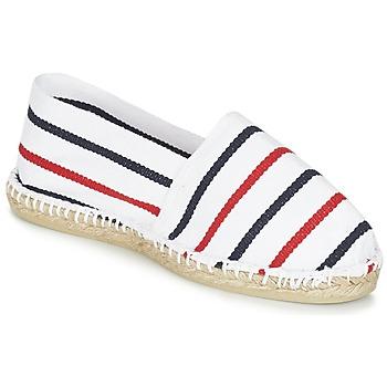 Cipők Gyékény talpú cipők 1789 Cala CLASSIQUE Fehér / Kék / Piros