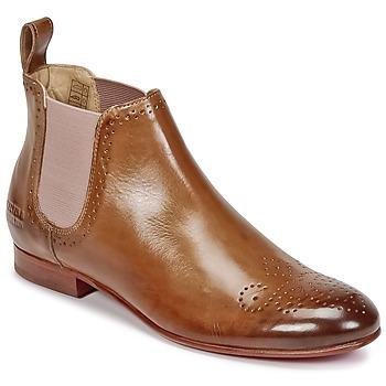 Shoes Női Csizmák Melvin & Hamilton SALLY 16 Teve