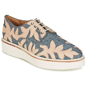 Cipők Női Oxford cipők Melvin & Hamilton MOLLY 11 Kék / Bézs
