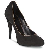 Shoes Női Félcipők Roberto Cavalli YPS530-PC219-D0127 Fekete  / Arany