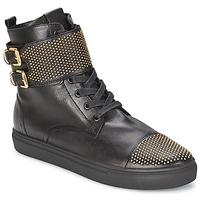 Cipők Női Magas szárú edzőcipők Kennel + Schmenger URZI Fekete  / Arany