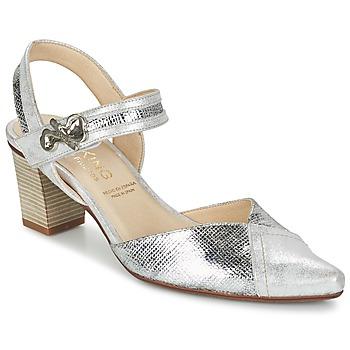 Cipők Női Félcipők Dorking DELTA Ezüst