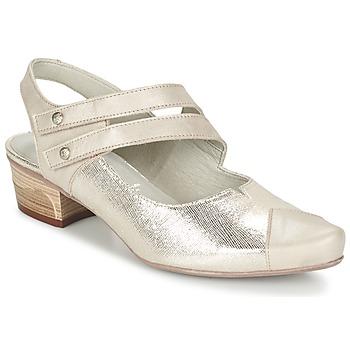 Cipők Női Félcipők Dorking MENET Ezüst / Szürke