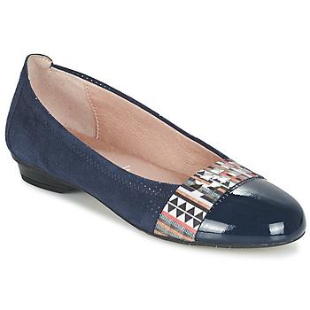 Cipők Női Balerina cipők / babák Dorking TELMA Tengerész