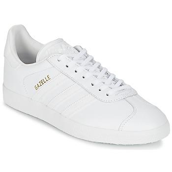 Cipők Rövid szárú edzőcipők adidas Originals GAZELLE Fehér