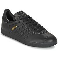 Cipők Rövid szárú edzőcipők adidas Originals GAZELLE Fekete