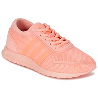 Cipők Lány Rövid szárú edzőcipők adidas Originals LOS ANGELES J Korall