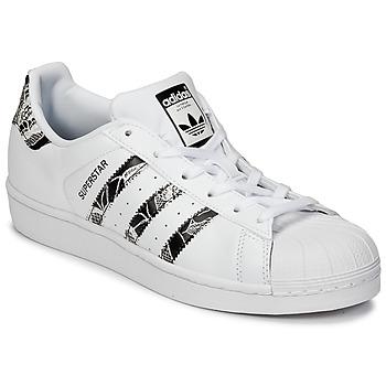 Shoes Női Rövid szárú edzőcipők adidas Originals SUPERSTAR W Fehér