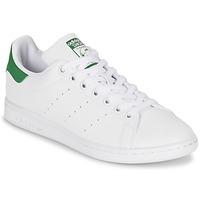 Shoes Női Rövid szárú edzőcipők adidas Originals STAN SMITH W Fehér