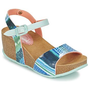Cipők Női Szandálok / Saruk Desigual BIO 7 BLUE AQUARELLA Kék