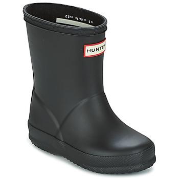 Cipők Gyerek Gumicsizmák Hunter KIDS FIRST CLASSIC Fekete
