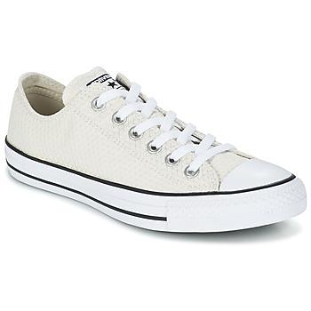 Cipők Női Rövid szárú edzőcipők Converse CHUCK TAYLOR ALL STAR SNAKE WOVEN OX Ekrü
