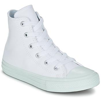 Cipők Lány Magas szárú edzőcipők Converse CHUCK TAYLOR ALL STAR II PASTEL SEASONAL TD HI Fehér / Kék / Égkék